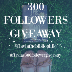 300 giveaway image with text