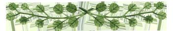 separator green leaves 2