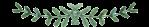 separator green leaves