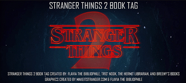 Stranger Things 2 Book Tag Top